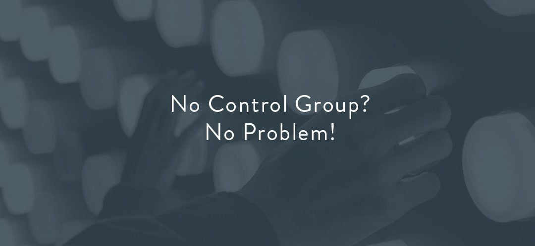 No Control Group, No Problem!