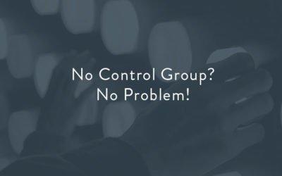 No Control Group, No Problem!
