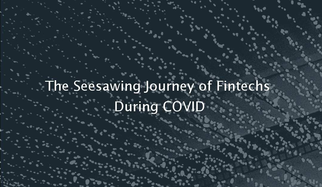 The Seesawing Journey of Fintechs During COVID